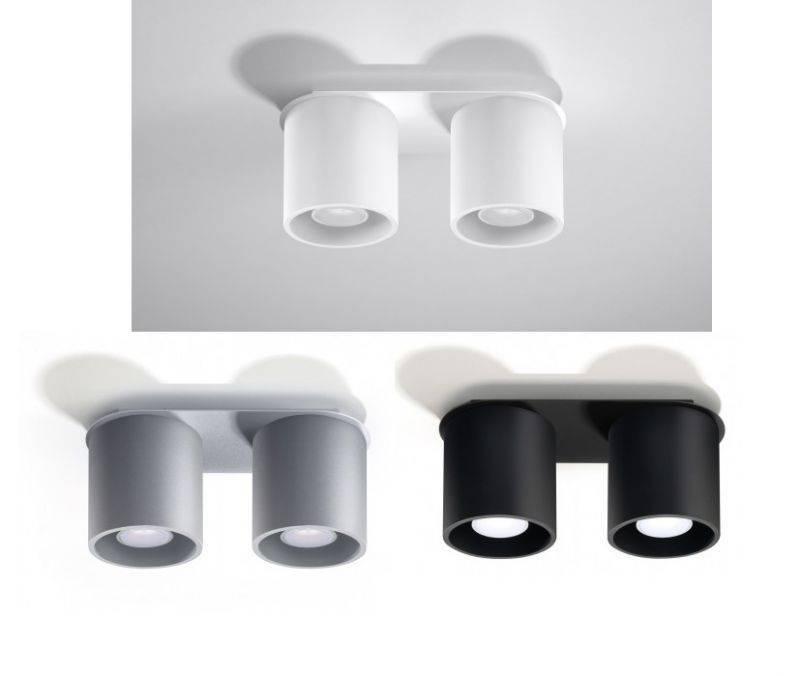 lampy podwojne sufitowe