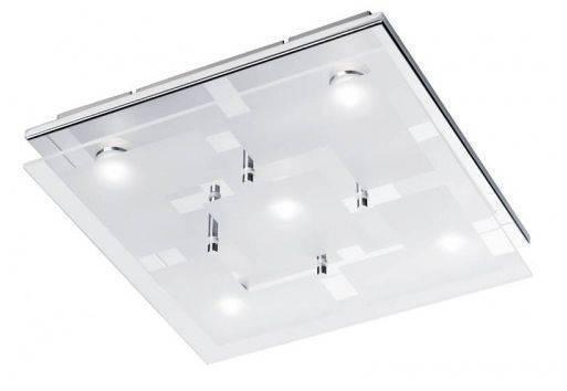 Lampa sufitowa plafon chiron led paul neuhaus 6105 17 for Luminaire salle de bain plafonnier